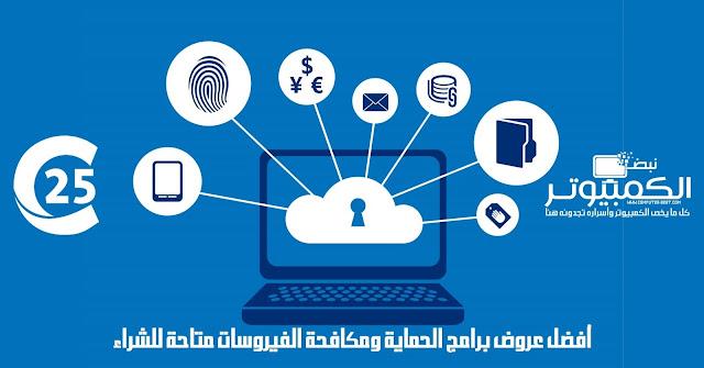أفضل عروض برامج الحماية ومكافحة الفيروسات متاحة للشراء