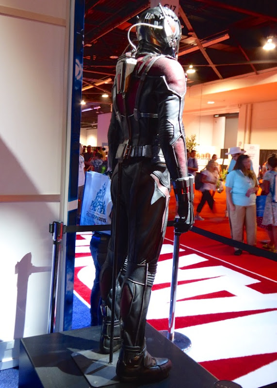 AntMan movie costume back detail