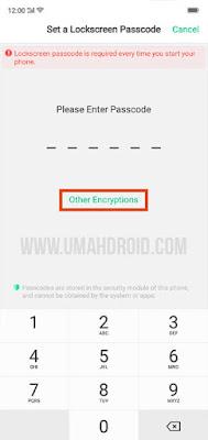 Cara Aktifkan Kunci Pola HP Realme ColorOS 5.2