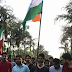 Human Chain Protest on fifth Day of Stand With AMU.