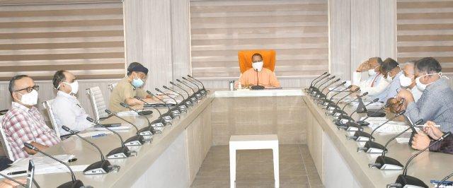 मुख्यमंत्री योगी ने कोविड-19 के संक्रमण के नियंत्रण एवं उपचार की व्यवस्था को प्रभावी बनाए रखने के निर्देश दिए