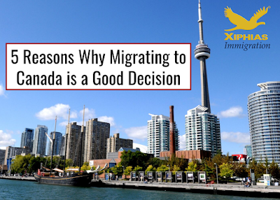 5 Reasons Why Migrating to Canada is a Good Decision