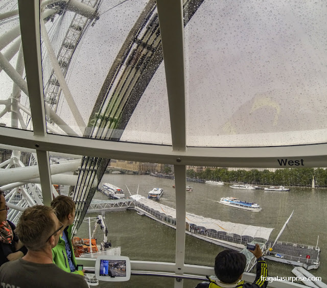 Londres: passeio na roda gigante do London Eye