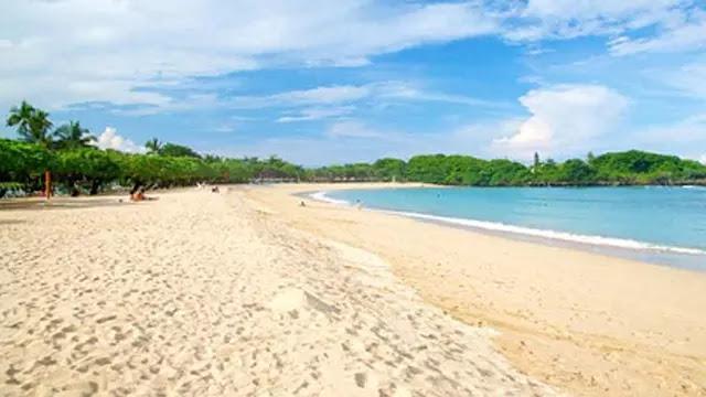 Enjoy the beauty of the beach