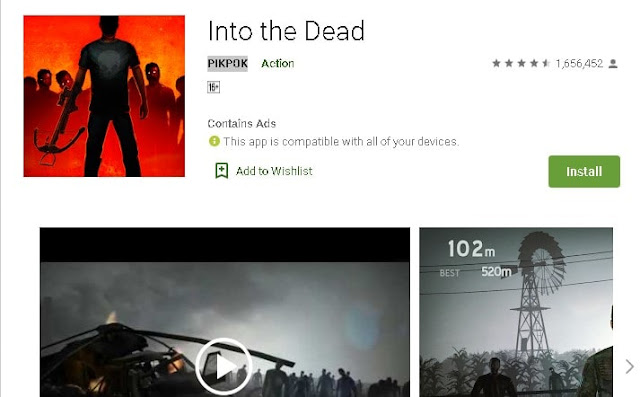 best offline action games for android