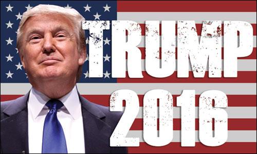 Donald Trump élu président des Etats-Unis.