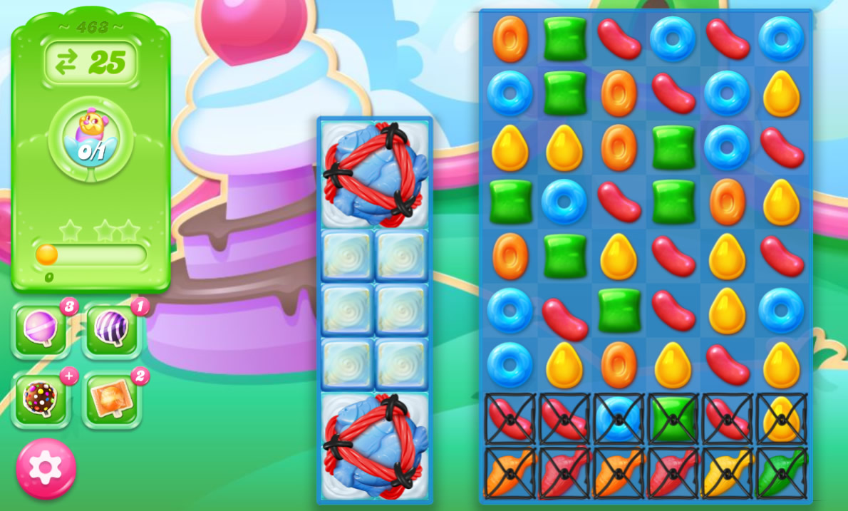 Candy Crush Jelly Saga 463