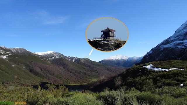 Ruta circular a Peña San Justo y Lago Isoba en San Isidro por la PR-LE 27