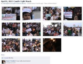 Anna Hazare in the activism