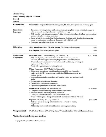 resume expert resume ideas