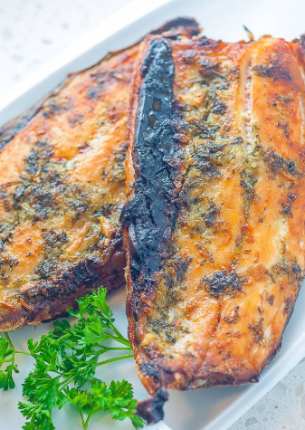 Baked Milk Fish
