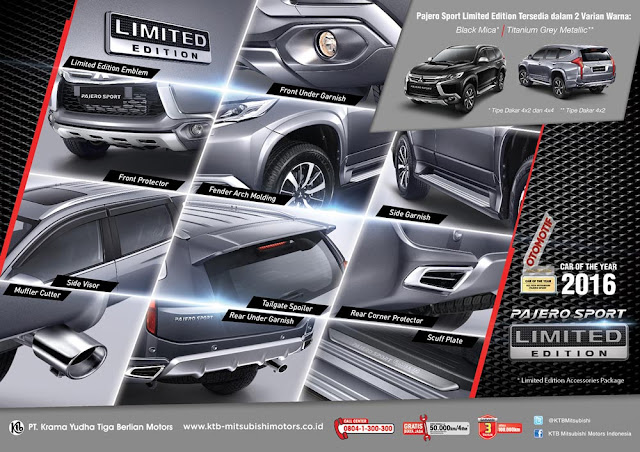 Mitsubishi Bintaro Pajero Sport Limited Edition