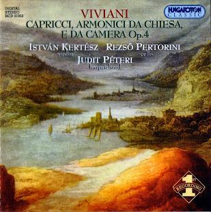 Giovanni Buonaventura Viviani (1638-1693) - Capricci armonici da chiesa e da camera, Op. 4