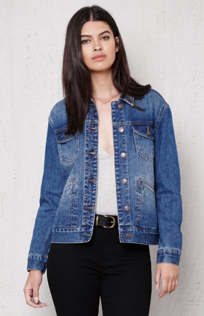 PacSun Oversized Vintage Denim Jacket
