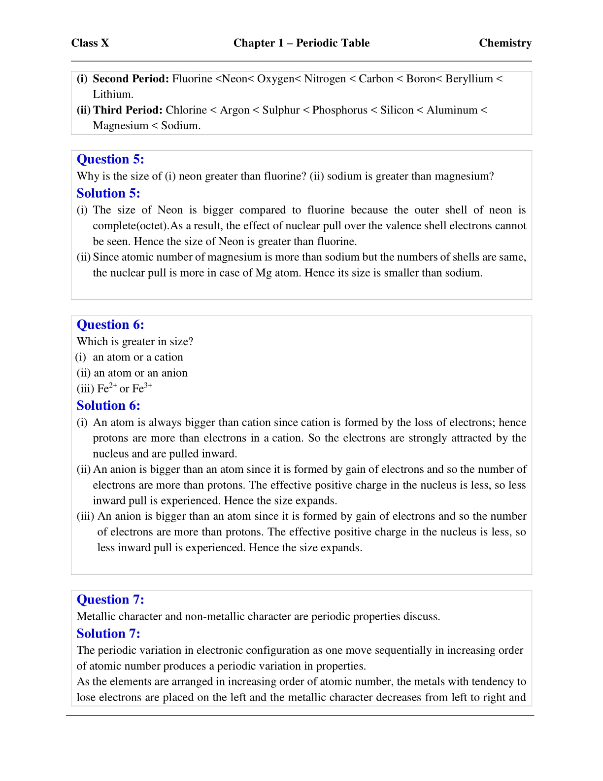 hight resolution of Evergreen Icse Self Study In Chemistry Class 10 - Free Photos