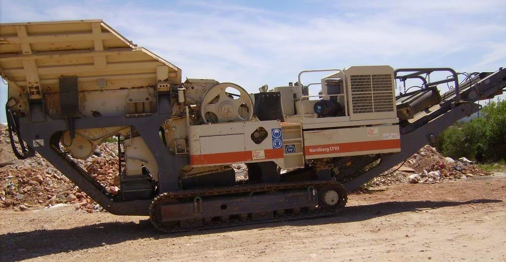 JAW CRUSHER METSO LT 95 2003 YOM 2003 FOR SALE | Crushing and