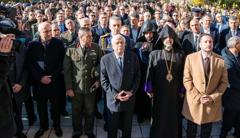 Στην Αλεξανδρούπολη ο Πρόεδρος της Δημοκρατίας Προκόπης Παυλόπουλος