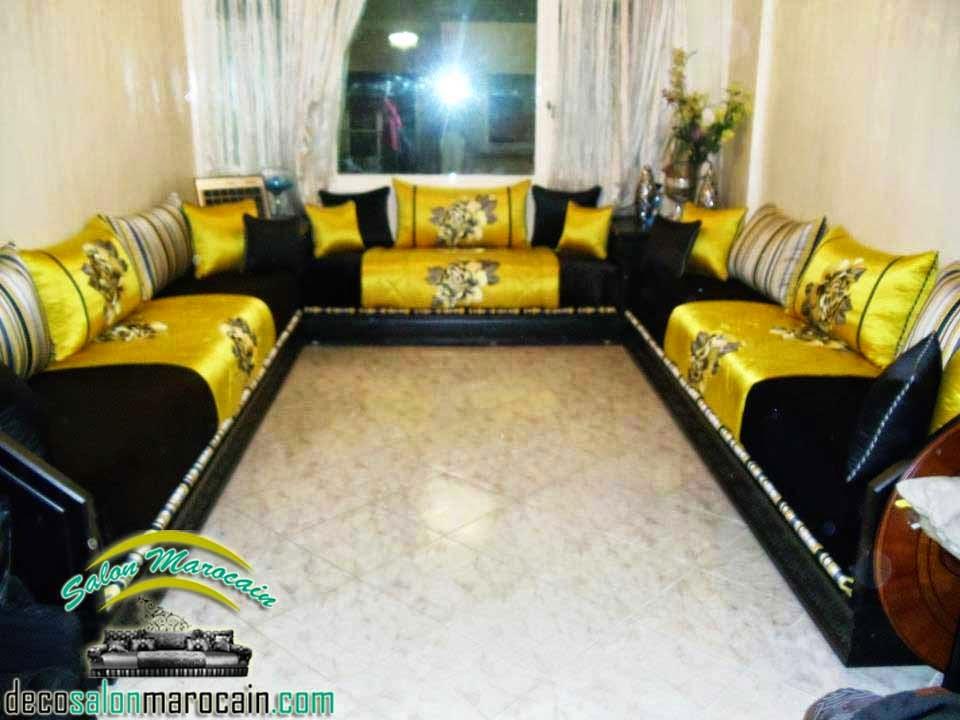 Décor luxueuse salon marocain - Décoration Salon Marocain ...