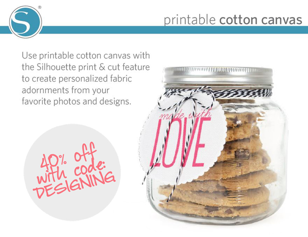 printable+cotton+canvas 40% off Silhouette Accessories Promotion + New Products 18
