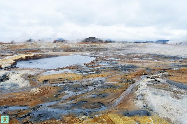 Hverir en Mývatn, Islandia