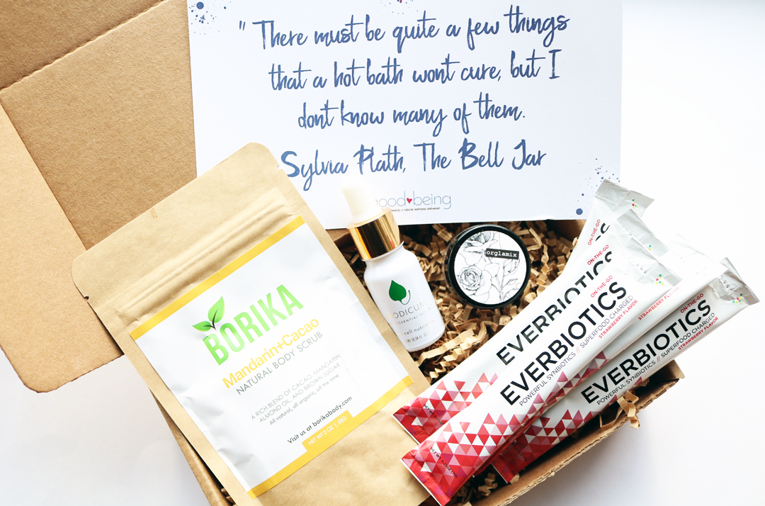 Goodbeing Natural Beauty & Wellness Box - October 2017 review