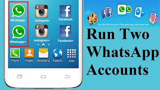Learn how to run two Whatsapp account in a smartphone
