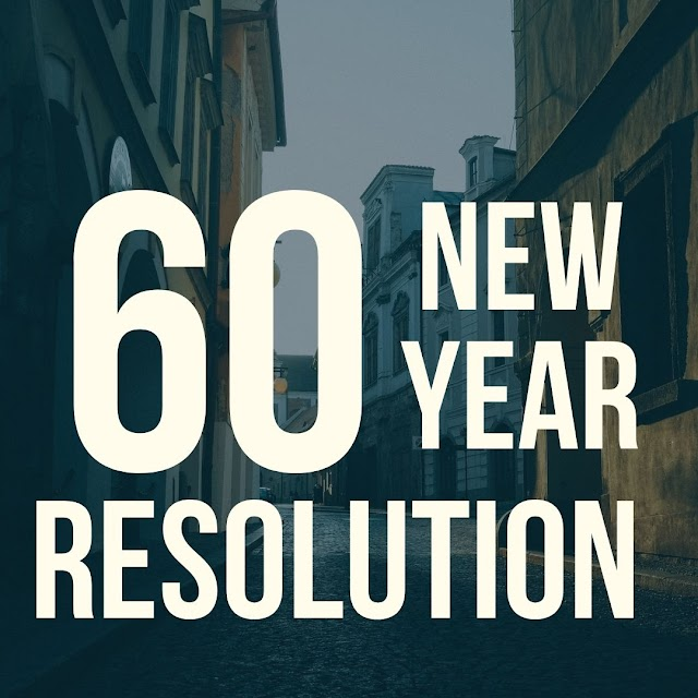 60 New Year Resolution Ideas For You - Amazing Adviser