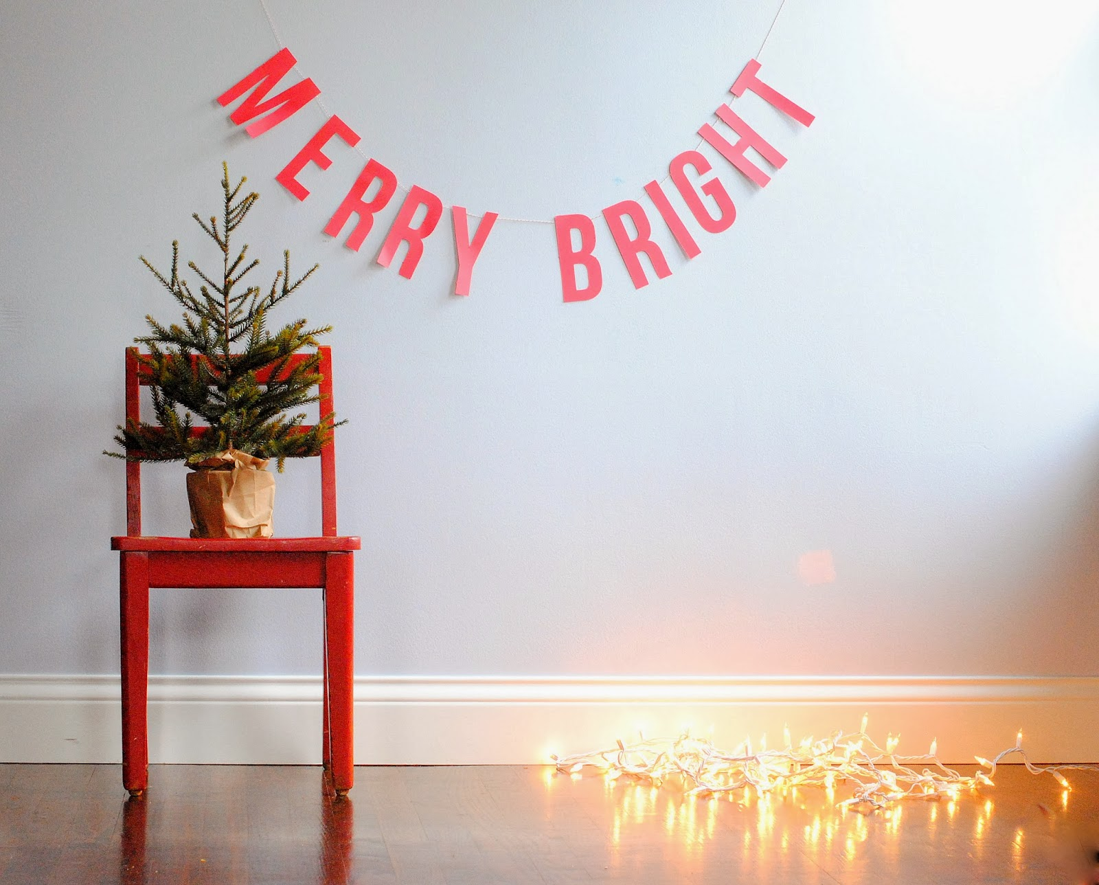 Diy: Christmas Card Photo Backdrop
