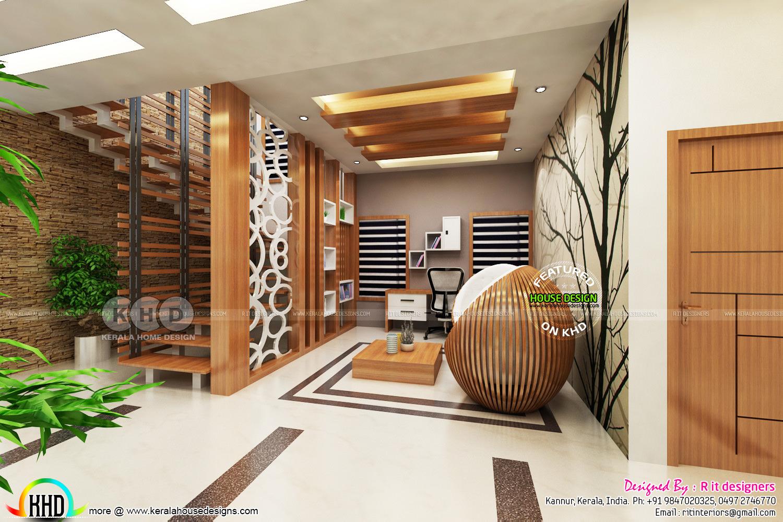 High quality modern interior designs - Kerala home design ... on Modern House Ideas Interior  id=64321