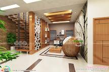 High Quality Modern Interior Design - Kerala Home
