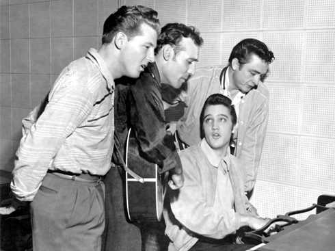Million Dollar Quartet Sun Studio Memphis Tennessee