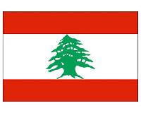 Bandiera del Libano, da Internet