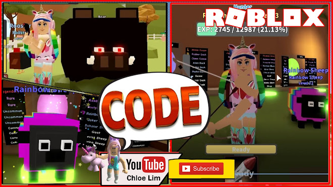 Roblox Hunting Simulator 2 Gameplay! Code! Chicken, Pig and MOOSE