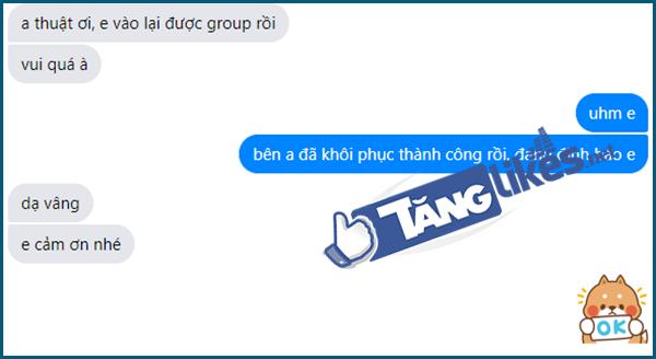 khoi phuc group bi khoa