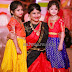 Cute Kids in Traditional Pattu Langa Designs