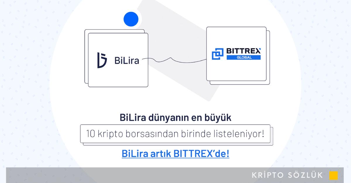Bittrex Global, BiLira'yı Listeliyor