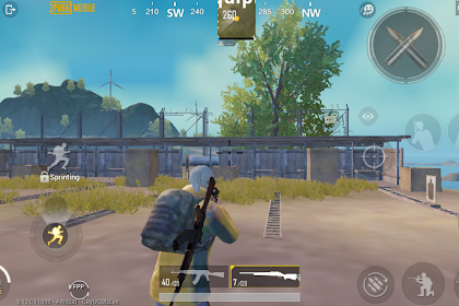Cara Munculin Tombol FPP di PUBG Mobile Global