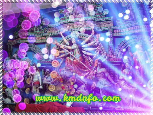 দুর্গা পুজার উপলক্ষে sms