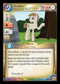 My Little Pony Mudbriar, Stick in the Mud Friends Forever CCG Card
