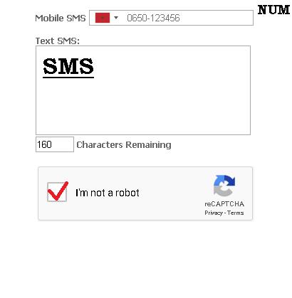 ارسال رسائل SMS  دول العالم مجانا موقع