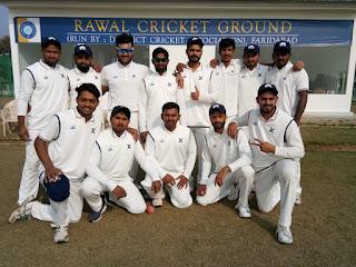 डेयरडेविल्स एक्स क्रिकेट क्लब ने मेवात अरावली क्रिकेट एसोसिएशन को  287 रन से हराया