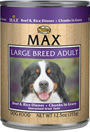 Picture of Nutro Max Adult Large Breed Beef and Rice Canned Dog Food