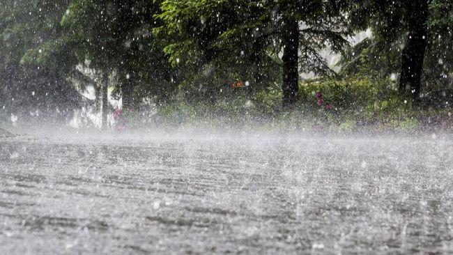karakteristik hujan frontal