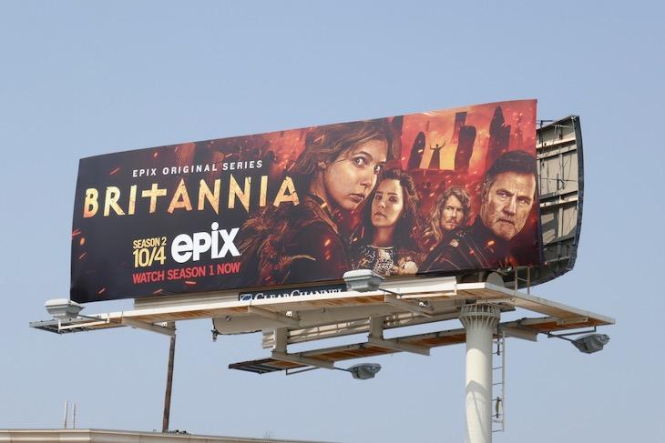 Britannia season 2 billboard