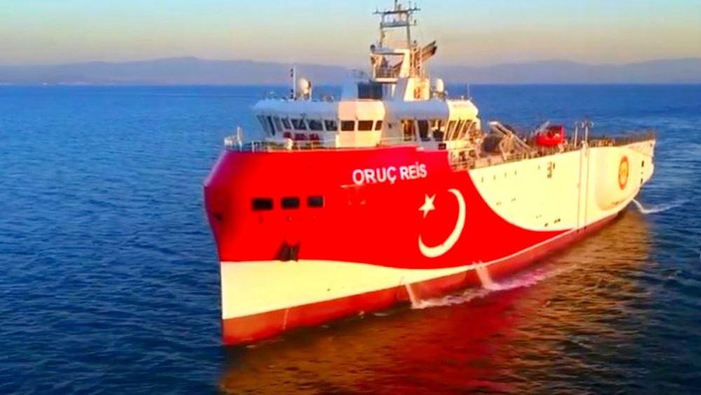 Στα 12 μίλια από τη Ρόδο έφτασε το τουρκικό ερευνητικό Oruc Reis