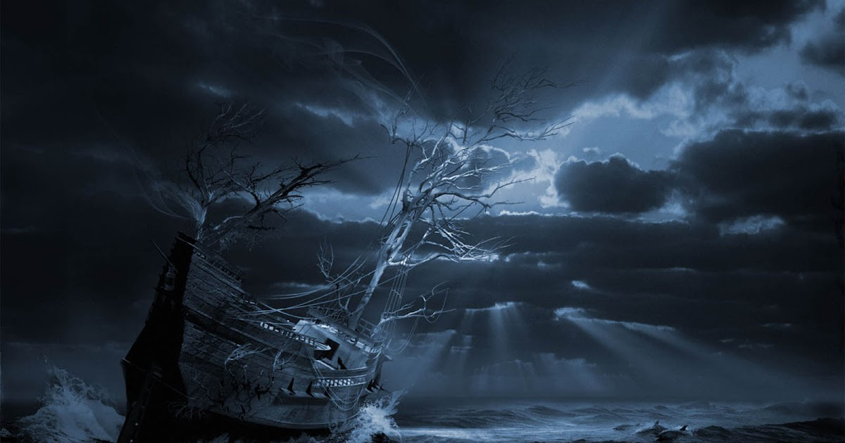 Free 3d Horror Wallpapers Wallpapers Ghost Ship