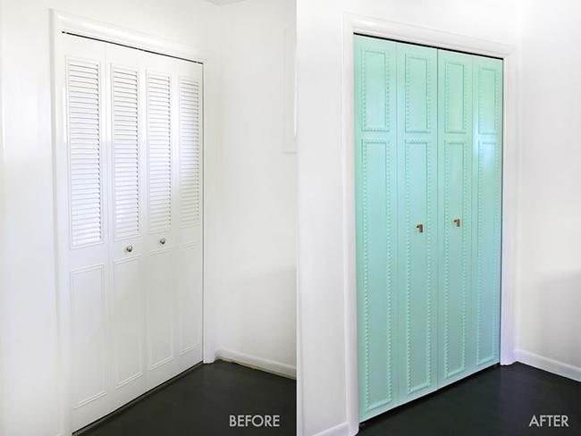 Antes y despu s adi s a las aburrid simas puertas de for Cambiar el color de las puertas