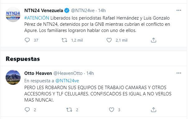 Secuestradores de la GNB