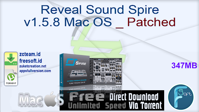 Reveal Sound Spire v1.5.8 Mac OS _ Patched
