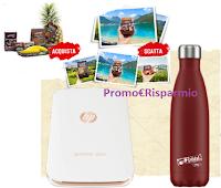 Logo Coop ''Il viaggio che sei'': vinci stampanti HP Sprocket, Borracce Chilly's e viaggio a Santo Domingo